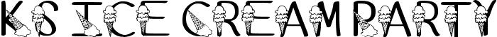 Ks Ice Cream Party