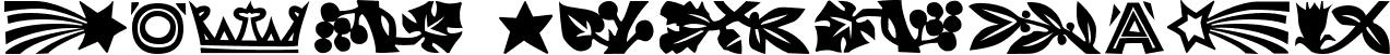 Koch Dingbats