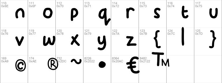 KidDos Font KidDos Font
