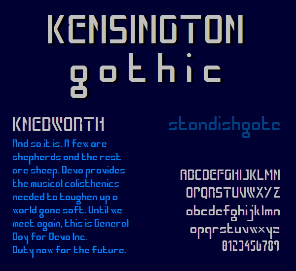 Kensington Gothic NBP