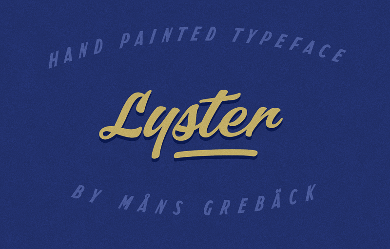 Lyster PERSONAL USE ONLY