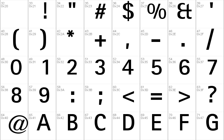 Libre Sans Serif SSi
