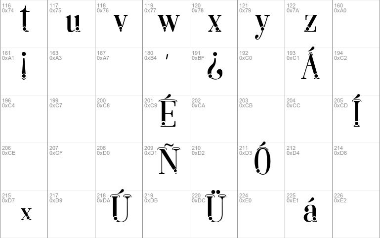 Lara dot Serif