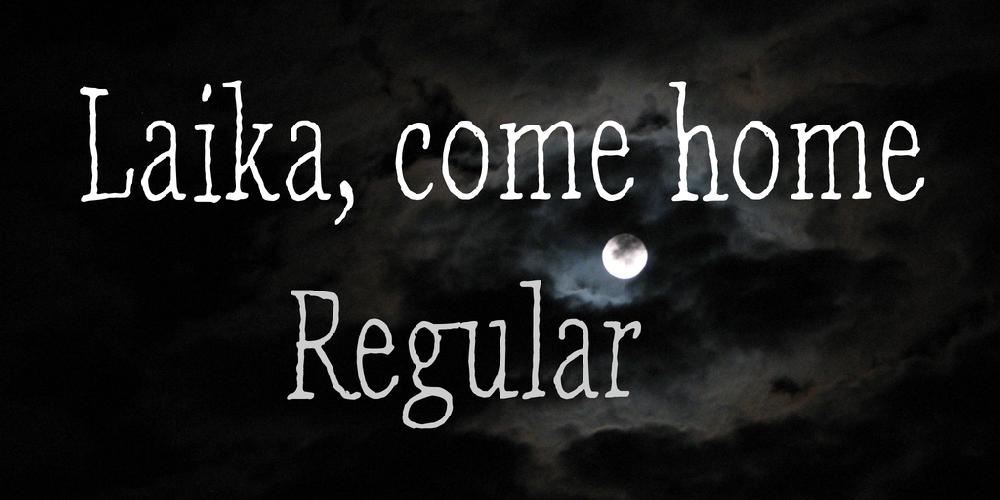 Laika, come home
