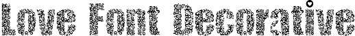 Love Font Decorative