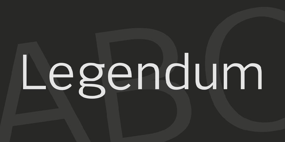 Legendum