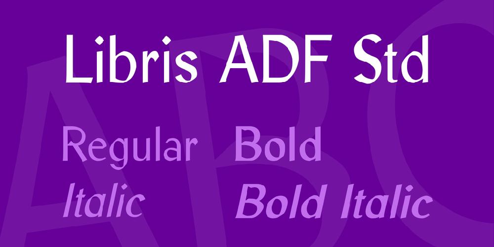 Libris ADF Std