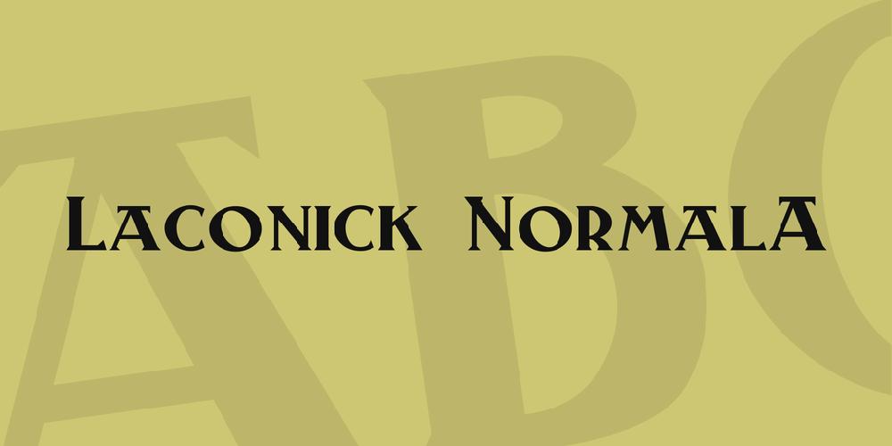 Laconick-NormalA