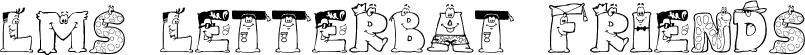 LMS Letterbat Friends