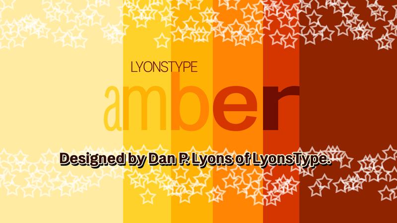 LT Amber Condensed