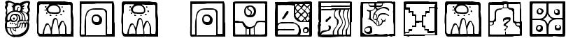 Maia ideograph