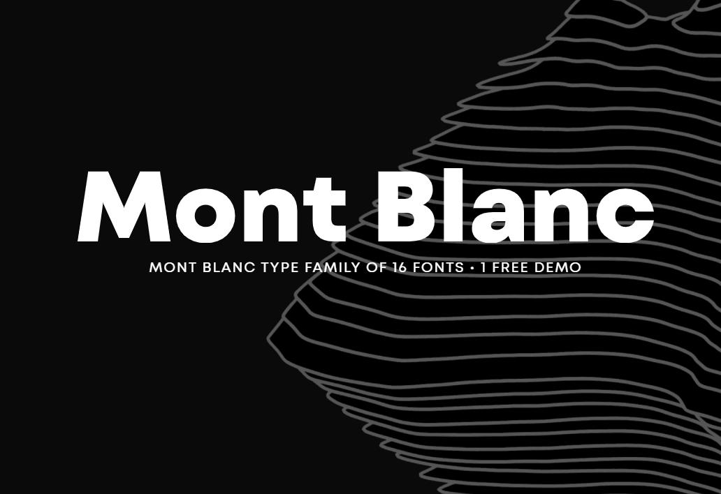 Mont Blanc-Trial Black