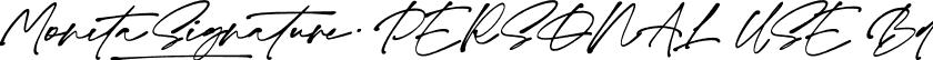 Monita Signature PERSONAL USE Bd