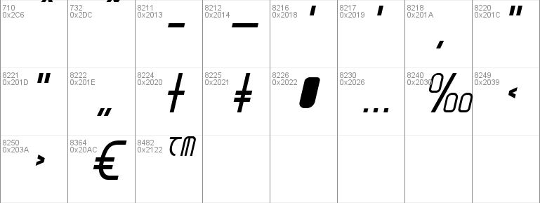 Moon Dart Italic