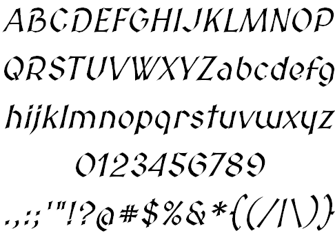 Medieval Sharp font - free for Personal | Commercial