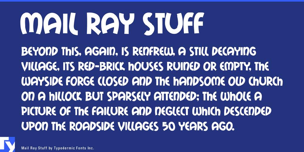 Mail Ray Stuff