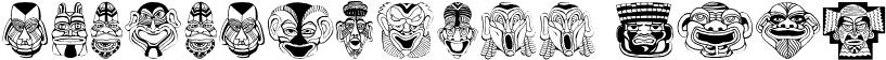 MasksMKThree Font