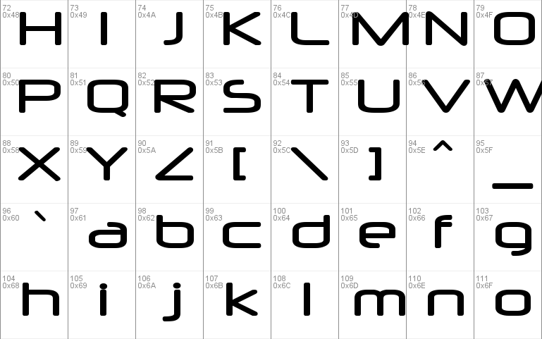 Neuropol Windows font - free for Personal   Commercial