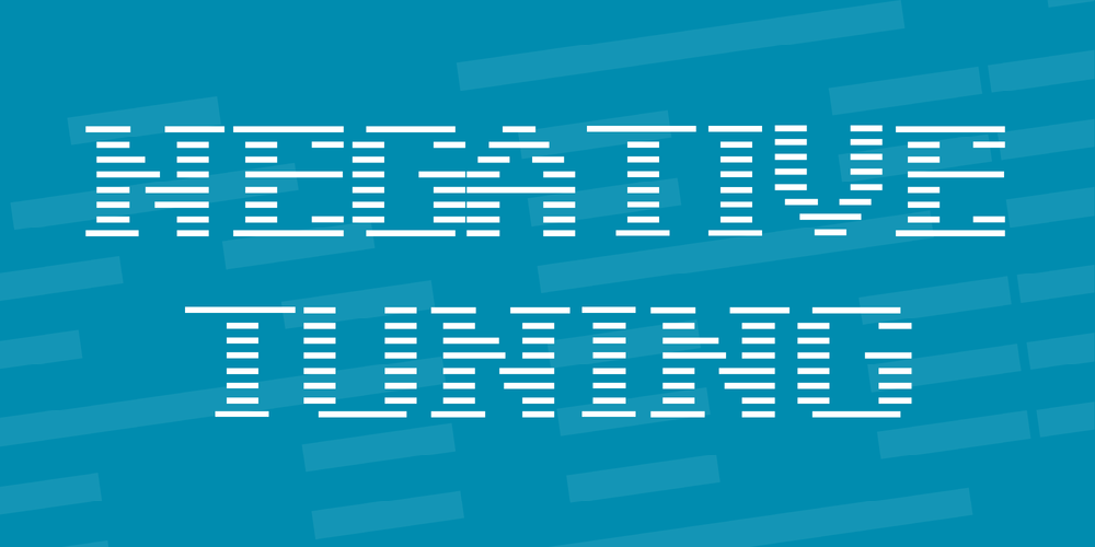 Negative Tuning