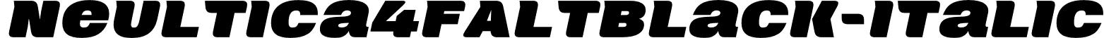 Neultica4FAltBlack-Italic