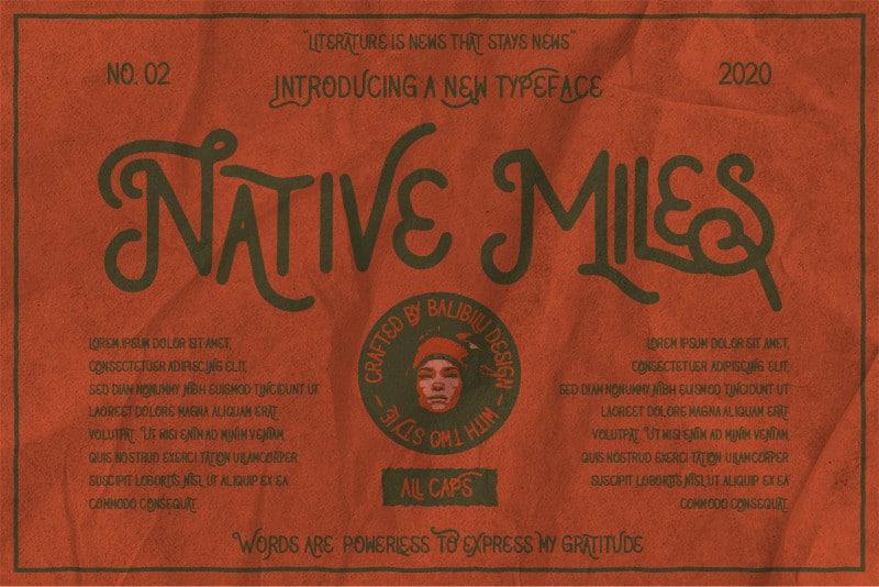 NativeMilesType