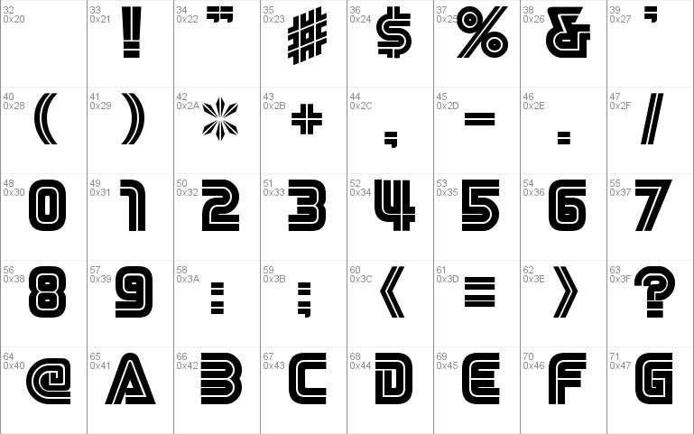 NiseSega Cyrillic Windows font - free for Personal