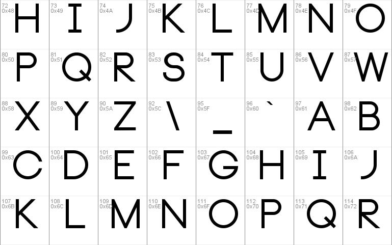 neou font