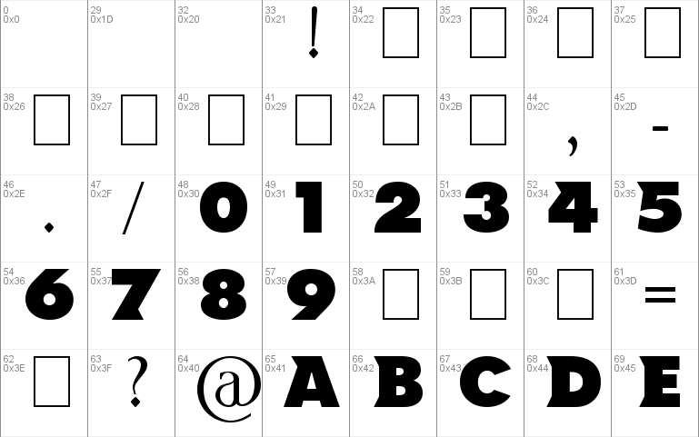 NCAA North Dakota Font Windows font - free for Personal