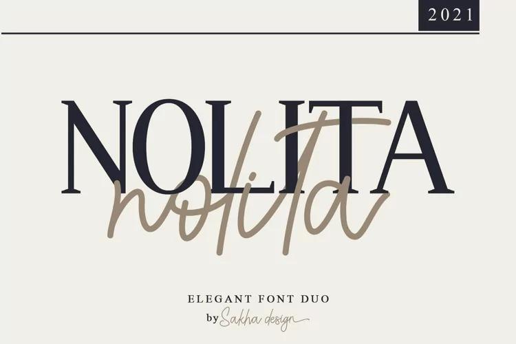 Nolita Serif - Pesonal Use