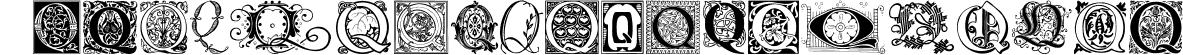Ornamental Initials Q