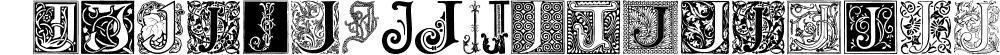 Ornamental Initials J