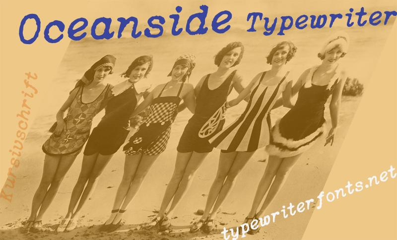 Oceanside Typewriter