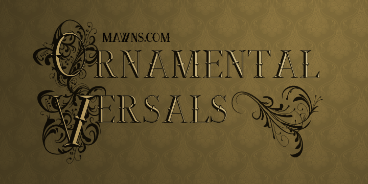 Ornamental Versals