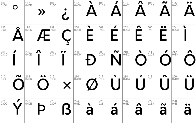 Orkney Medium Windows font - free for Personal