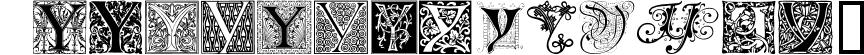 Ornamental Initials Y