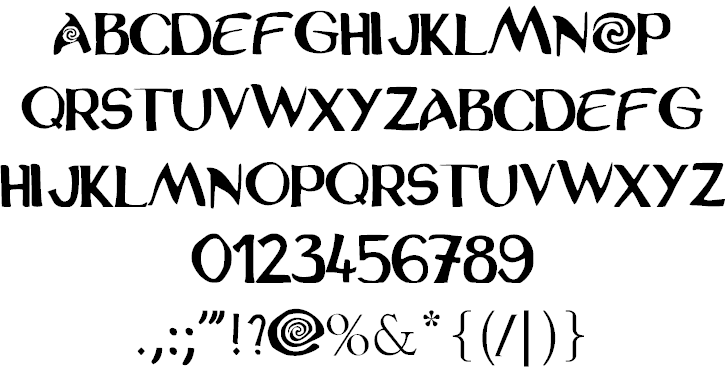 police vaiana windows font  free for personal