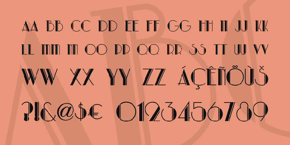 Park Lane NF font - free for Personal | Commercial