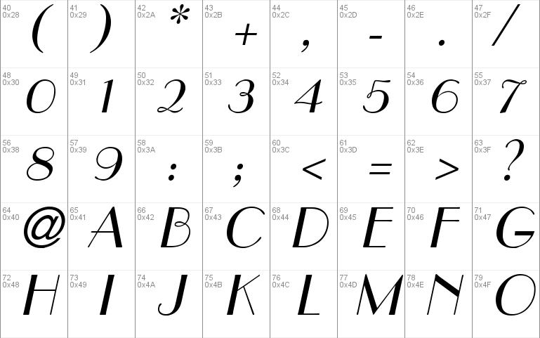 Paris font - free for Personal