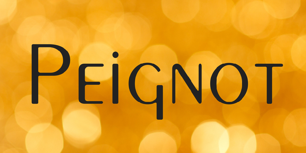 Peignot Windows font - free for Personal | Commercial | Modification