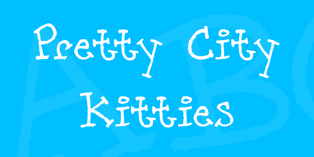 Pretty City Kitties