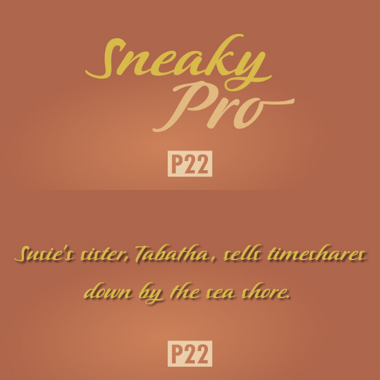 P22Sneaky