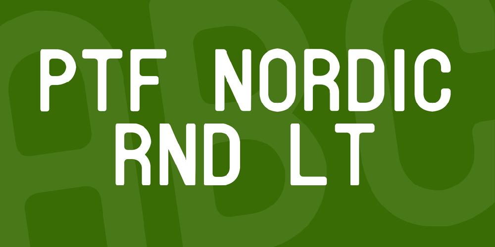 PTF NORDIC Rnd Lt