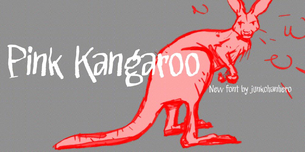 Pink Kangaroo