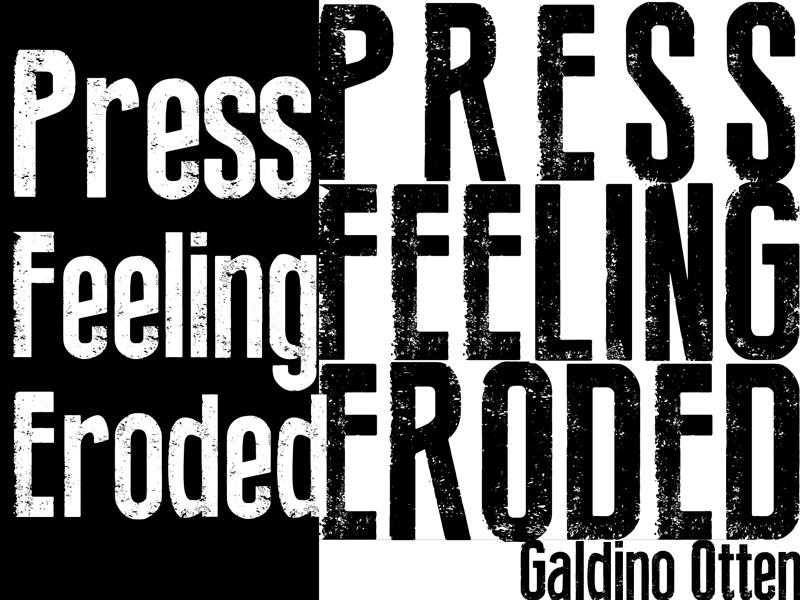 Press Feeling Eroded