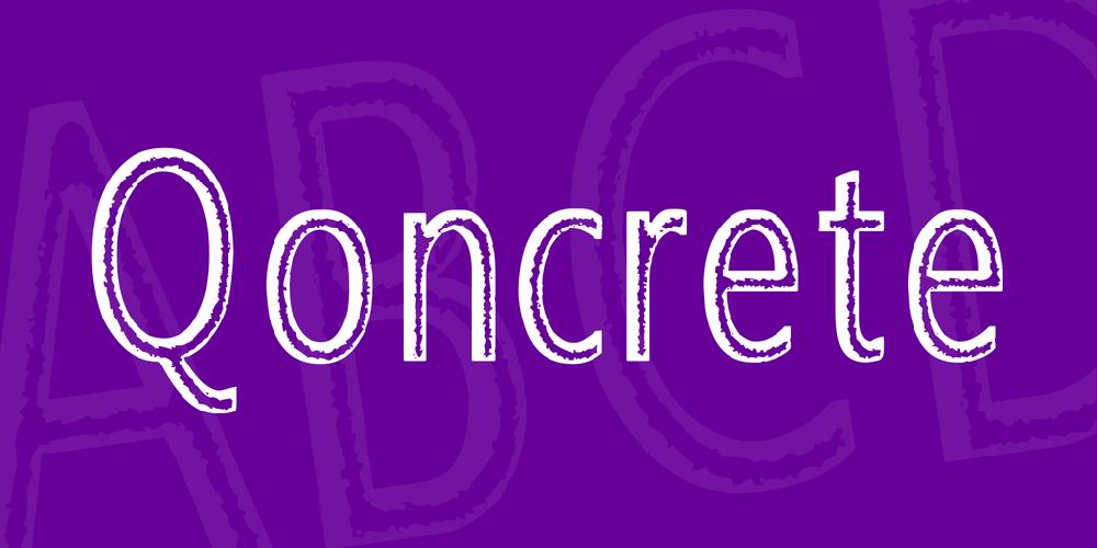 Qoncrete
