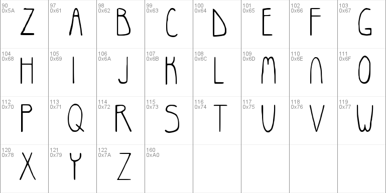 Rosemary Windows font - free for Personal