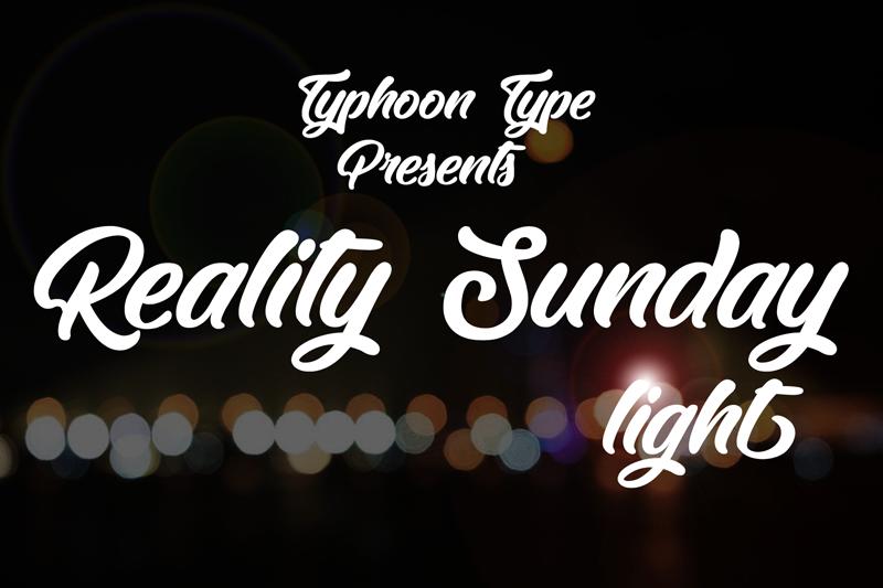 Reality Sunday light