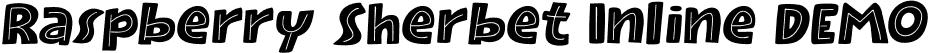 Raspberry Sherbet Inline DEMO
