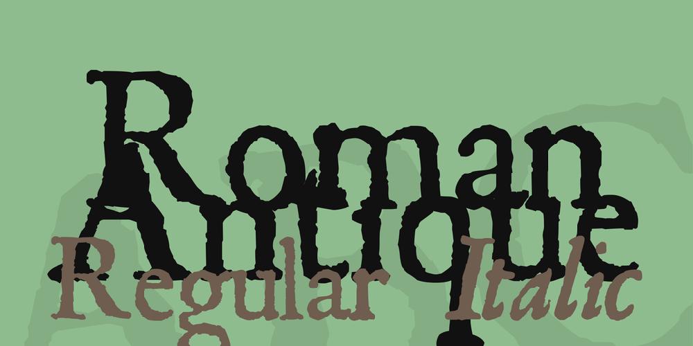 Roman Antique