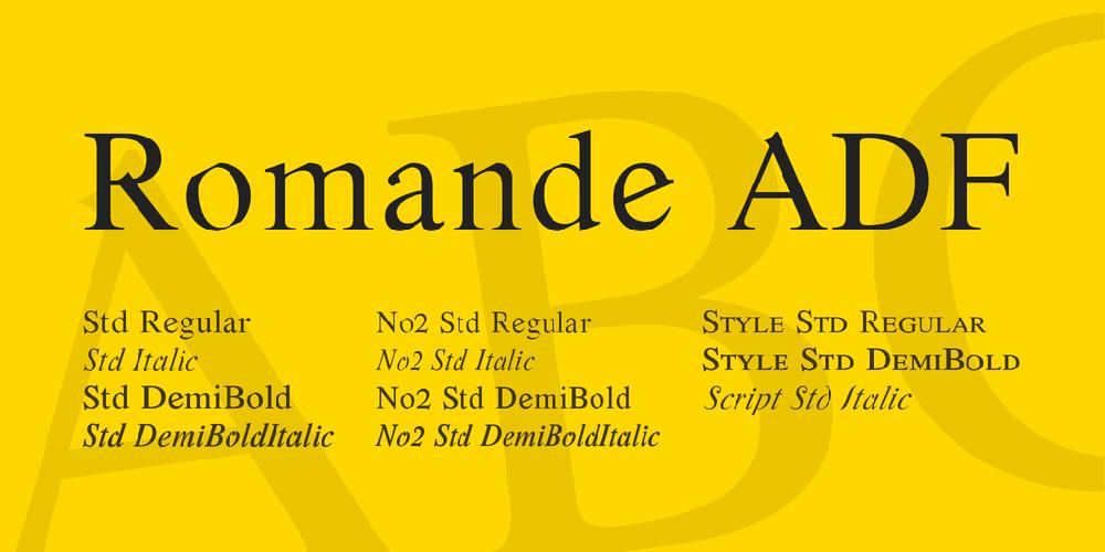 Romande ADF